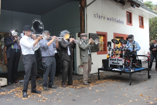 Brass Band BlackBoxMusic am Stadtfest Rynach 2015